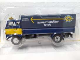 Volvo  - F86 blue/yellow - 1:43 - Magazine Models - magTRUasg | Tom's Modelauto's