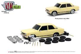 Datsun  - 510 1970 light yellow - 1:24 - M2 Machines - 47000-06B - M2-47000-06B | Tom's Modelauto's