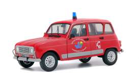 Renault  - 4L red - 1:18 - Solido - 1800106 - soli1800106 | Tom's Modelauto's
