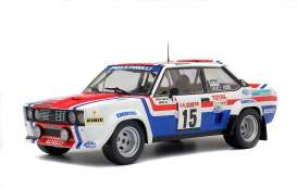 Fiat  - 131 1979 white/red/blue - 1:18 - Solido - 1800807 - soli1800807 | Tom's Modelauto's