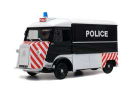 Citroen  - HY 1969 black/white/red - 1:18 - Solido - 1850024 - soli1850024 | Tom's Modelauto's