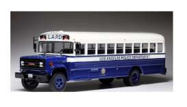 GMC  - 6000 1988 blue/white - 1:43 - IXO Models - BUS017 - ixBUS017 | Tom's Modelauto's