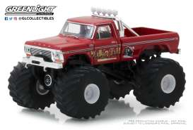 Ford  - F-250 Monster Truck 1979 red - 1:64 - GreenLight - 49020E - gl49020E | Tom's Modelauto's