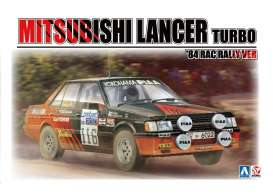 Mitsubishi  - Lancer 2000 Turbo #116  1984 red/black - 1:24 - Beemax - 24022 - bmx24022 | Toms Modelautos