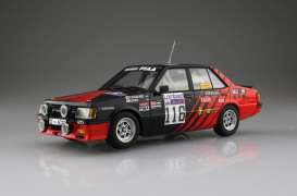 Mitsubishi  - Lancer 2000 Turbo #116  1984 red/black - 1:24 - Beemax - 24022 - bmx24022 | Tom's Modelauto's