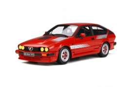 Alfa Romeo  - GTV6 1984 red - 1:18 - OttOmobile Miniatures - 295 - otto295 | Tom's Modelauto's