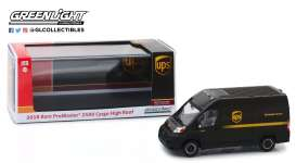 Ram  - ProMaster 2018 brown - 1:43 - GreenLight - 86156 - gl86156 | Tom's Modelauto's