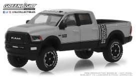 Ram  - 2500 Power Wagon 2018 silver - 1:64 - GreenLight - 30014 - gl30014 | Tom's Modelauto's