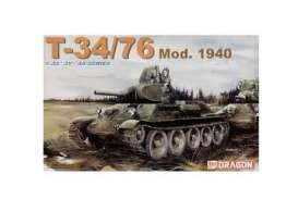 Military Vehicles  - T-34/76 1940  - 1:72 - Dragon - 7589 - dra7589 | Toms Modelautos