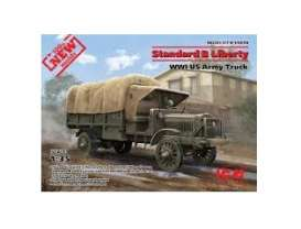 Military Vehicles  - Standard B Liberty WWI  - 1:35 - ICM - 35650 - icm35650 | Tom's Modelauto's