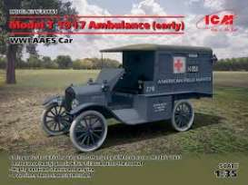 Ford  - Model T 1917  - 1:35 - ICM - 35665 - icm35665 | Tom's Modelauto's