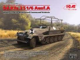 Military Vehicles  - Sd.Kfz.251/6   - 1:35 - ICM - 35102 - icm35102 | Tom's Modelauto's