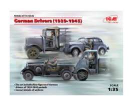Figures diorama - German Drivers  - 1:35 - ICM - 35642 - icm35642 | Tom's Modelauto's