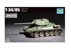 Military Vehicles  - T-34/85  - 1:72 - Trumpeter - 07167 - tr07167 | Toms Modelautos