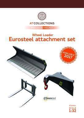 Eurosteel diorama - 2018  - 1:32 - AT Collections - 3200121 - AT3200121 | Tom's Modelauto's