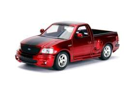 Ford  - SVT Lightning 1999 candy red/black - 1:24 - Jada Toys - 30357 - jada30357r | Tom's Modelauto's