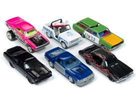 Assortment/ Mix  - various - 1:64 - Johnny Lightning - SF008A - JLSF008A | Tom's Modelauto's