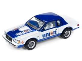 Buick  - Regal 1961 white/blue - 1:64 - Johnny Lightning - SP012 - JLSP012 | Tom's Modelauto's