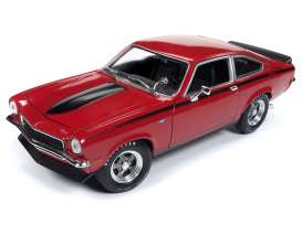 Chevrolet  - Vega 1972 red - 1:18 - Auto World - AMM1156 - AMM1156 | Tom's Modelauto's
