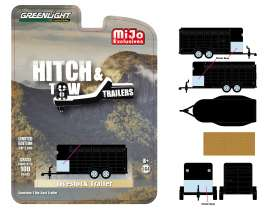Trailer  - Livestock black - 1:64 - GreenLight - 51213 - gl51213 | Tom's Modelauto's