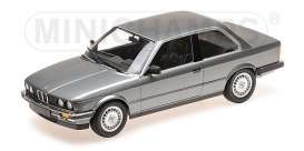 BMW  - 323I 1982 grey metallic - 1:18 - Minichamps - 155026006 - mc155026006 | Tom's Modelauto's