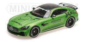 Mercedes Benz  - 2017 green - 1:18 - Minichamps - 155036091 - mc155036091 | Tom's Modelauto's