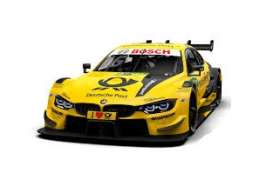 BMW  - M4 2018 yellow - 1:18 - Minichamps - 155182816 - mc155182816 | Toms Modelautos