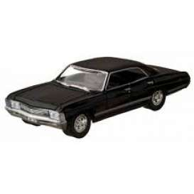 Chevrolet  - Impala *Supernatural* 1967 black - 1:64 - GreenLight - 51206 - gl51206 | Tom's Modelauto's