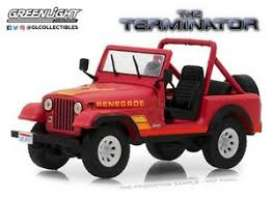 Jeep  - red - 1:64 - GreenLight - 51211 - gl51211 | Tom's Modelauto's