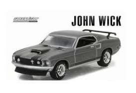 Mustang  - chrome/grey - 1:64 - GreenLight - 51228 - gl51228 | Tom's Modelauto's