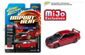 Mitsubishi  - Lancer red - 1:64 - Johnny Lightning - cp7127 - jlcp7127 | Tom's Modelauto's
