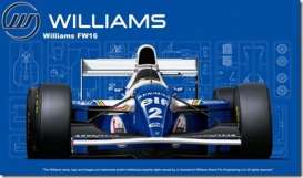 Williams  - FW16  - 1:20 - Fujimi - 092126 - fuji092126 | Tom's Modelauto's
