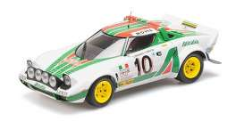 Lancia  - Stratos 1976 white/red/green - 1:18 - Minichamps - 155761710 - mc155761710 | Tom's Modelauto's