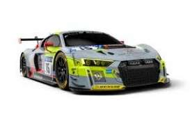 Audi  - R8 LMS 2018 grey/yellow/black - 1:43 - Minichamps - 410181715 - mc410181715 | Toms Modelautos