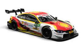 BMW  - M4 2018 white/yellow/red - 1:43 - Minichamps - 410182415 - mc410182415 | Toms Modelautos