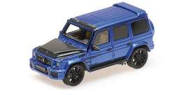 Brabus  - 900 2017 dark blue - 1:43 - Minichamps - 437037404 - mc437037404 | Tom's Modelauto's