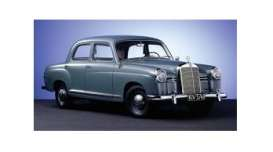 Mercedes Benz  - 180 1955 blue - 1:43 - Minichamps - 940033102 - mc940033102 | Tom's Modelauto's