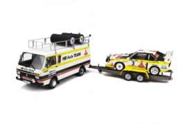 Audi  - 1986 yellow/white - 1:18 - OttOmobile Miniatures - 276 - otto276 | Tom's Modelauto's