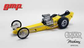 Dragster  - yellow/black - 1:18 - GMP - GMP18917 - gmp18917 | Toms Modelautos
