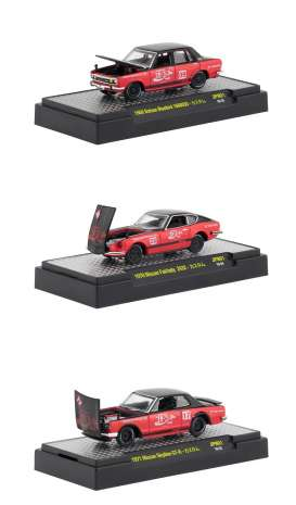 Assortment/ Mix  - red/black - 1:64 - M2 Machines - 52500-JPN01 - M2-52500JPN01 | Tom's Modelauto's