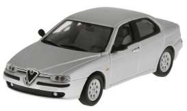 Alfa Romeo  - 156 light grey - 1:43 - Magazine Models - FIA5915811 - magFIA5915811 | Tom's Modelauto's