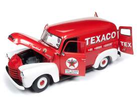 Chevrolet  - Panel Delivery 1948 red/white - 1:18 - Auto World - AW248 - AW248 | Tom's Modelauto's