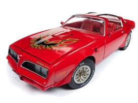 Pontiac  - Trans Am 1977 red - 1:18 - Auto World - AMM1160 - AMM1160 | Tom's Modelauto's