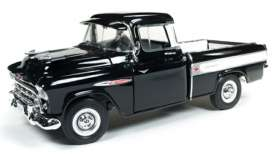 Chevrolet  - Cameo 1957 black/white - 1:18 - Auto World - AMM1145 - AMM1145 | Tom's Modelauto's