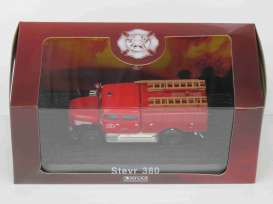 Steyr  - 380 red - 1:72 - Magazine Models - 7147015 - magAT7147015 | Toms Modelautos