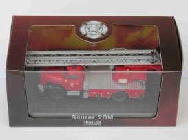 Saurer  - 2 DM red - 1:72 - Magazine Models - 7147016 - magAT7147016 | Toms Modelautos
