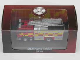 MAN  - Pump Ladder red - 1:72 - Magazine Models - 4144110 - magAT4144110 | Toms Modelautos