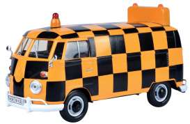 Volkswagen  - Type 2 black/orange - 1:24 - Motor Max - 79572 - mmax79572 | Tom's Modelauto's