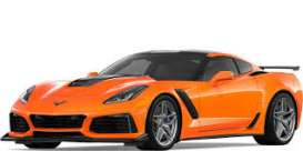 Corvette  - ZR1 2019 orange - 1:24 - Motor Max - 79356o - mmax79356o | Tom's Modelauto's