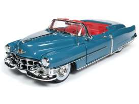 Cadillac  - Eldorado 1953 blue/red - 1:18 - Auto World - AW251 - AW251 | Tom's Modelauto's